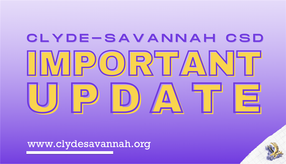 12/1 Update from Superintendent Hayden