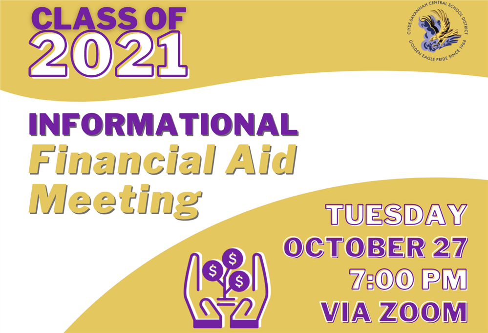Informational Financial Aid Zoom Meeting