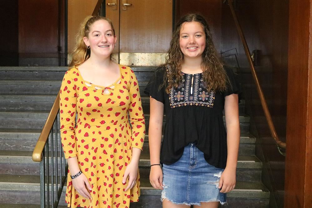 Brianna Sullivan and Madison Secor were selected to perform at the festival on November 1 and 2.